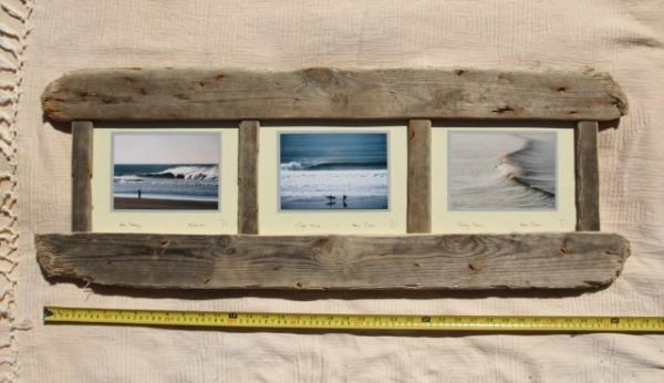 driftwood frame 38 x 13 inchestriple style