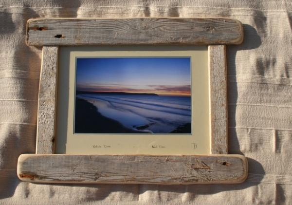 large diftwood frame 22x17 inches landscape style